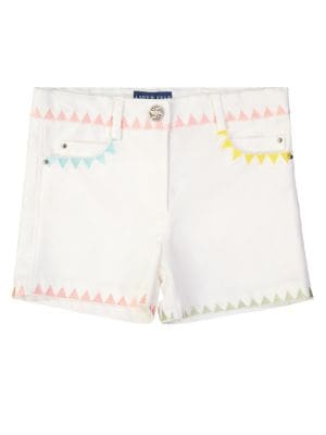 Girl's Embroidered Shorts...