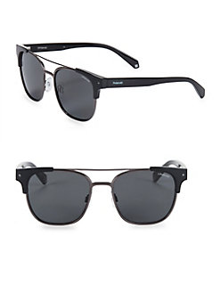 050b8d9780 QUICK VIEW. Polaroid. Tort 54MM Square Sunglasses
