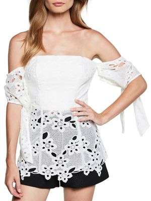 Essy Lace Bustier Top...