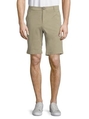 Straight-Fit Shorts @...