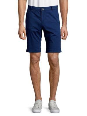 Straight-Fit Cuffed Shorts...