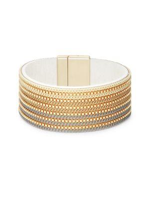 Textured Chain Bangle...