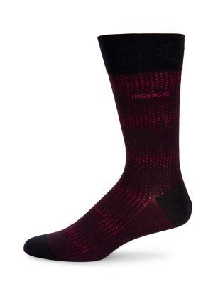 Faded Dot Dress Socks...