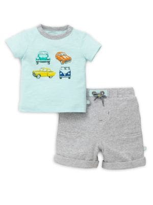 Baby Boy's Car Tee and...