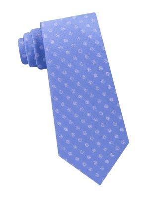 Speckled Dot Silk Tie...