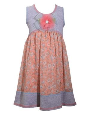 Little Girl's Knit Empire Dress 500088234652