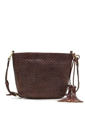 Banyoles Leather Crossbody Bag
