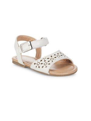 Kiera Flat Sandals @...