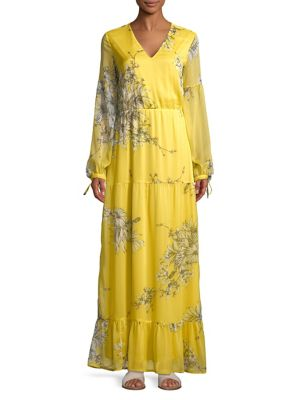 Vero Moda SATINA FLORAL MAXI DRESS