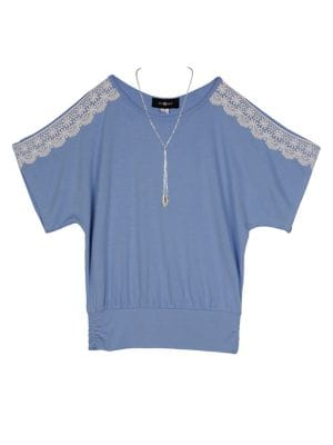 Girl's Lace Top @...