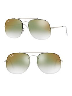 a205c0c3f2 QUICK VIEW. Ray-Ban. 58MM Rimless Gradient Rectangular Sunglasses