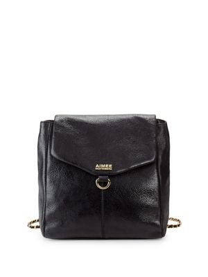 Simone Leather Backpack...