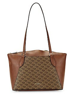 21e60169aba6 QUICK VIEW. Karl Lagerfeld Paris. Monogram Leather Tote Bag
