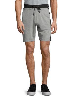 Heathered Knit Shorts...