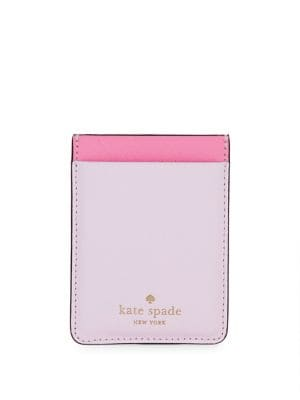 Tech Accessories Double Sticker Leather Card Case 500088262914