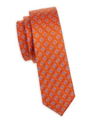 Boy's Flower Silk Tie...
