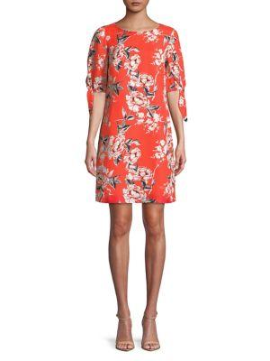Lovely Lady Tie-Sleeve Sheath Dress 500088269878