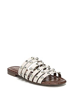 ec12a9217863 QUICK VIEW. Sam Edelman. Brea 2 Leather Flat Sandals