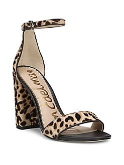 b40aa54b0500da Product image. QUICK VIEW. Sam Edelman. Yaro Leopard-Print Calf Hair Sandals
