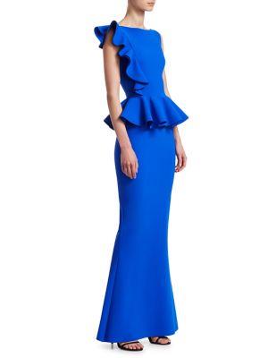 Dinara Peplum Gown 500088283962