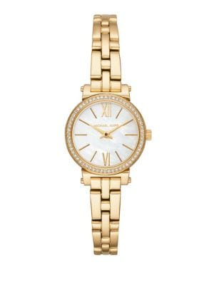 Image of Sofie Mother-Of-Pearl Bracelet Watch