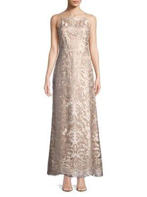 Apron Neck Gown