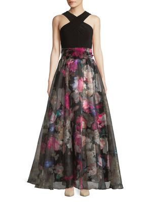 Floral Ball Gown 500088298789