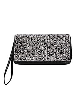 794021f28c3 Bourne Beaded Clutch BLACK MULTI. QUICK VIEW. Product image