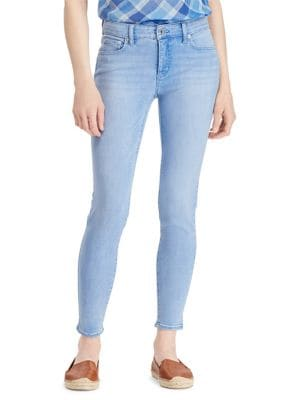 Premier Skinny Cropped High-Rise Jeans 500088306149