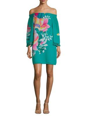 California Dreaming Amaris Off-The-Shoulder Dress 500088320257