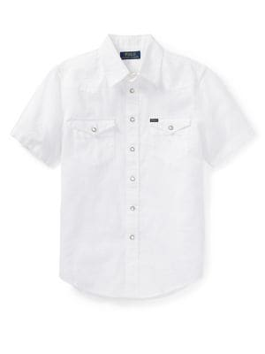 Boy's Classic Collared Shirt 500088332116