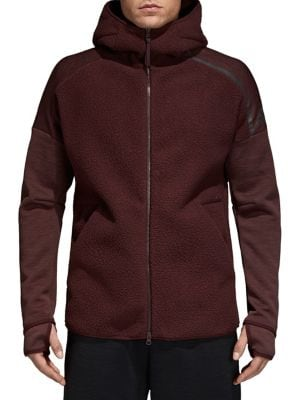 French Terry Zip Hoodie...