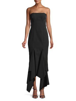 Sleeveless Ruffled Dress 500088340060