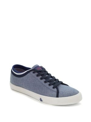 Damon Lace-Up Sneakers...