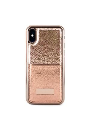 Korrii II Metallic iPhone X Card Slot Case 500088346316