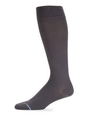 Solid Stretch Socks @...