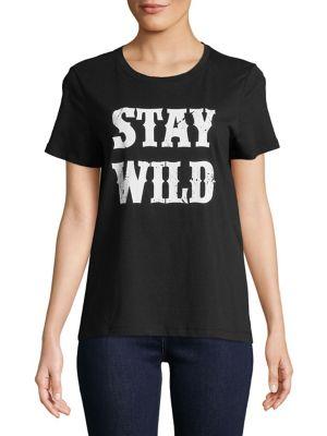 Stay WIld Short Sleeve...