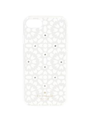 Jeweled Floral Mosaic iPhone 8 Case 500088357358