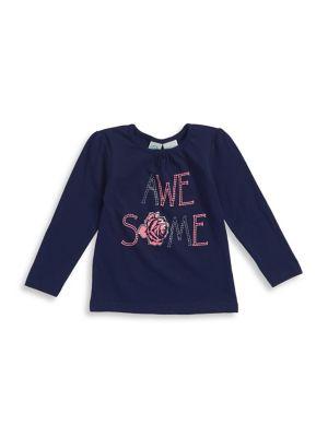 Little Girl's Yarn-Dye...
