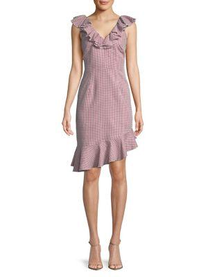Ruffled Sleeveless Dress...