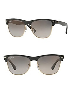 375913035e QUICK VIEW. Ray-Ban. 57MM Oversized Clubmaster Sunglasses