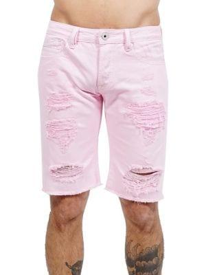 Rebel Distressed Shorts...