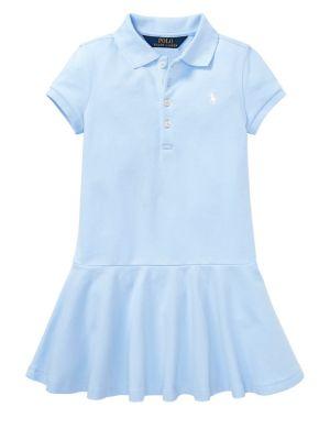 Girl's Short Sleeve Polo...