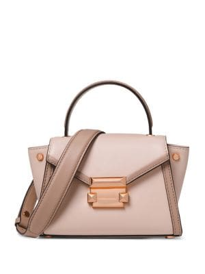 Whitney Mini Leather...