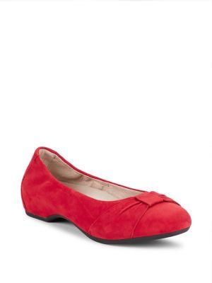 Lina Suede Ballet Flats...