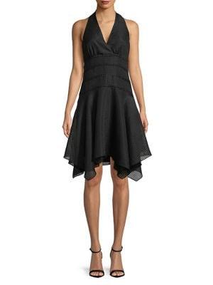 Ruffled Halter Dress 500088392597