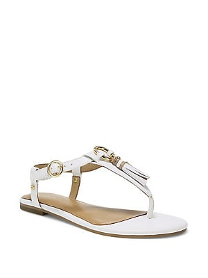 7a7eb30616c8 Aerosoles - Short Circuit Faux Leather Thong Sandals - lordandtaylor.com
