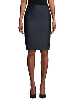 38550e7cab7 Anne Klein - Textured Pencil Skirt