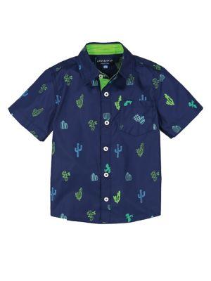 Little Boy's Printed Pocket Shirt 500088408854