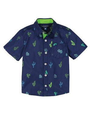 Baby Boy's Printed Short-Sleeve Shirt 500088412826